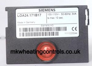 Siemens Landis LOA24171B2B 240V Control Box (was LOA21