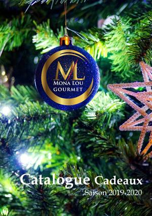 Catalogue-Noël-2019 Mona lou gourmet