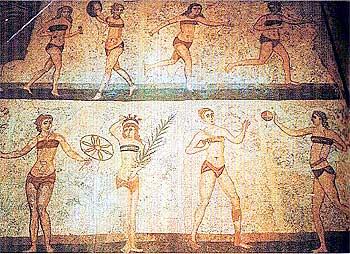 как отдыхали в древности