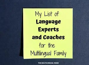 List of Multilingual Language Coaches and Experts