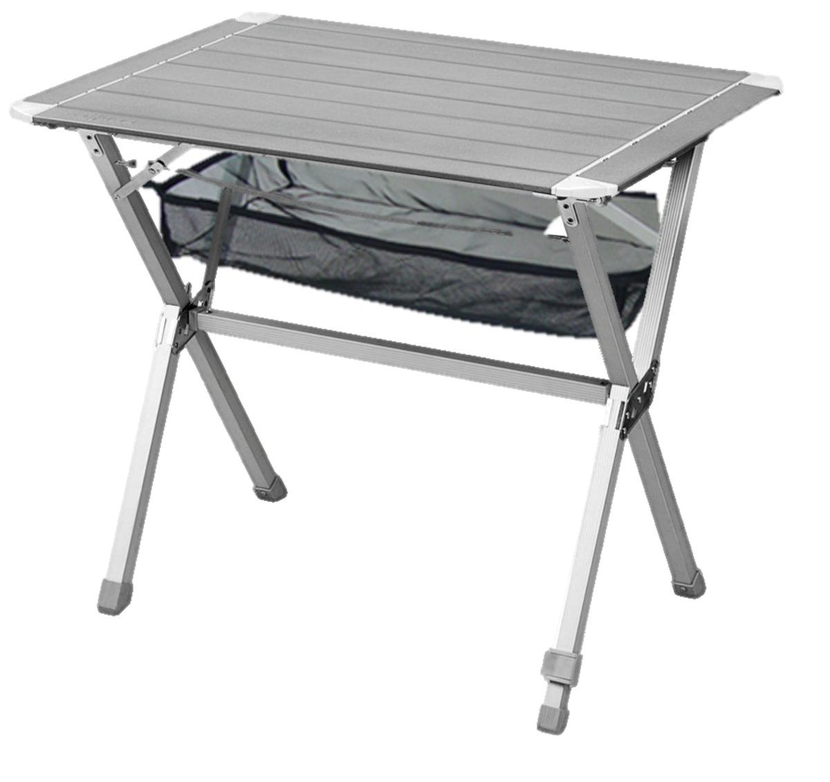 Mesa De Aluminio Plegable Ultraliviana Premium Para