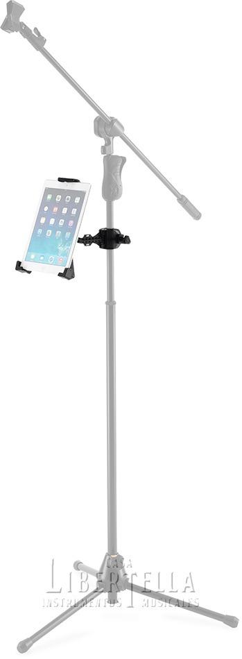 Soporte Hercules Dg305b Para Tablet Y iPad Ajustable R 360