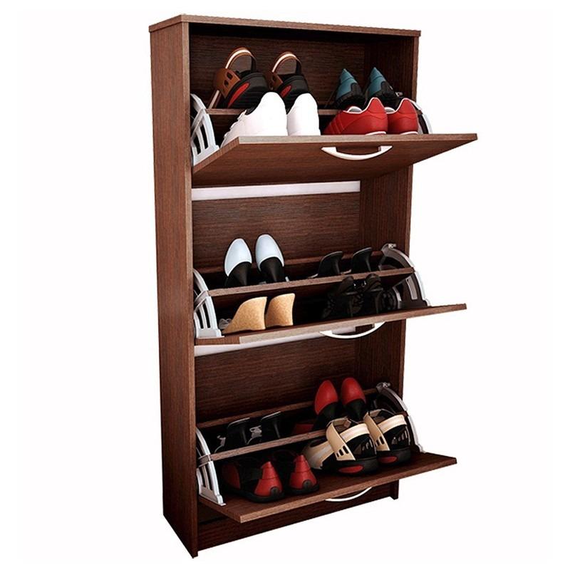 Mueble Para Hogar Organizador De Calzado Reproex 3 Cajones