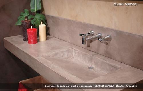 Mesada De Cemento Alisado Con Pendiente 60x50 1900 ajYZw