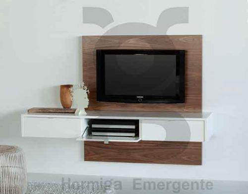 Mueble Panel Lcd  Tv  Led  Modular  Mesa De Tv