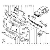 Carrocería Chapas y Plásticos de Exterior Molduras Renault