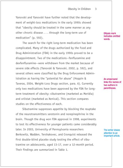 Sample APA Paper MLAFormat Org