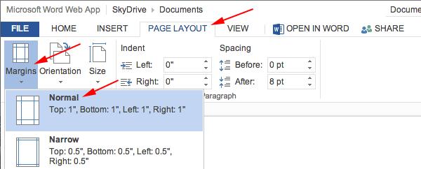 apa font and size