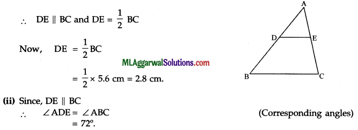 ICSE Class 9 Maths Sample Question Paper 2 with Answers 21