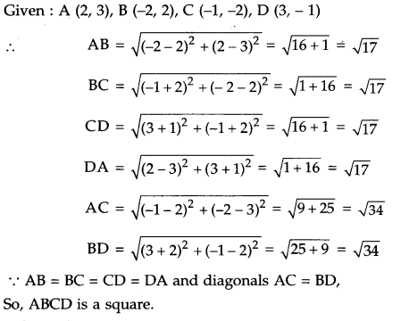 ICSE Class 9 Maths Sample Question Paper 4 with Answers 8