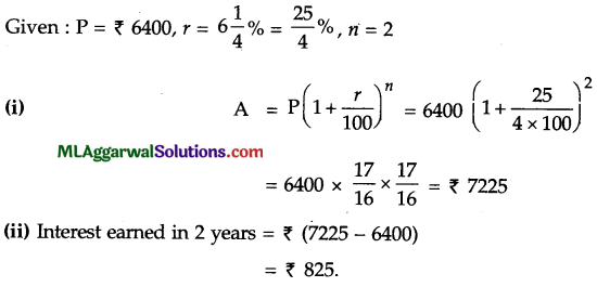 ICSE Class 9 Maths Sample Question Paper 6 with Answers 7