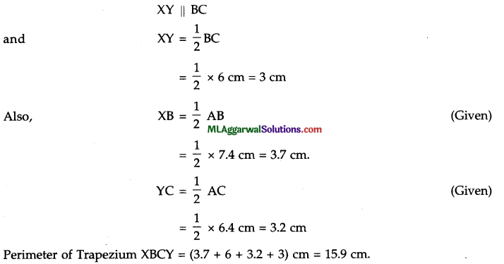 ICSE Class 9 Maths Sample Question Paper 10 with Answers 22