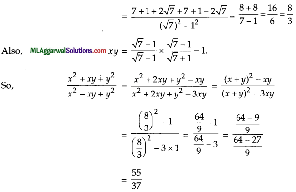 ICSE Class 9 Maths Sample Question Paper 9 with Answers 28