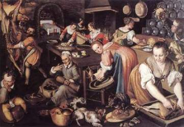 Medieval Kitchen Ruminations of a Fantasy Devotee