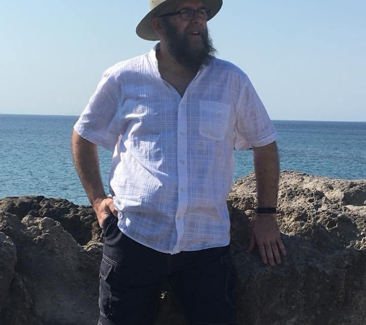 Mark Lambert on holiday in Kefalos, Kos