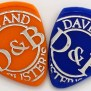 Dave And Buster S Plastic Gaming Chips Set Coin Guitar Pick