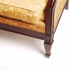 Sofa Usado No Mercado Livre Beige Color Leather Sofá Luis Felipe Canape Namoradeira R 1 190 48 Em