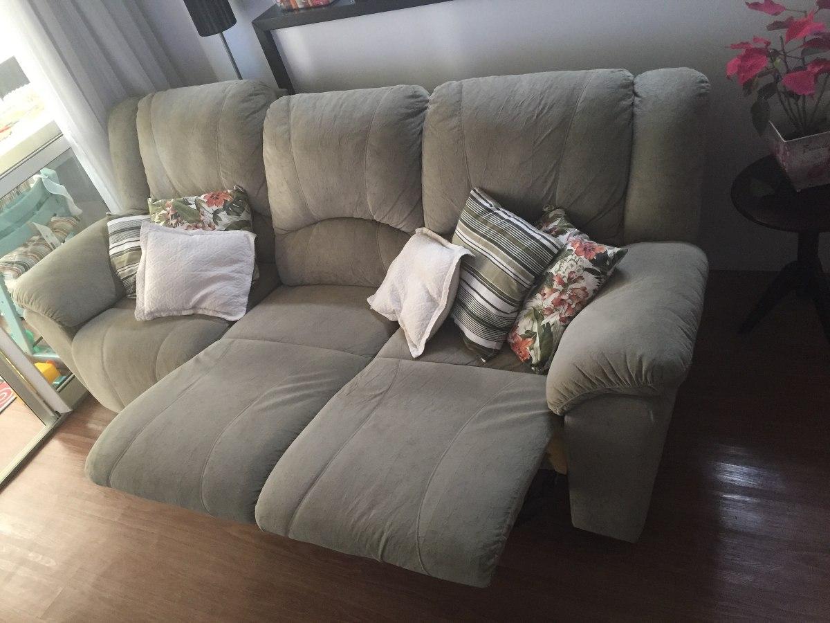 sofa usado no mercado livre hampton italian leather sofá reclinavel plenitude r 1 649 00 em