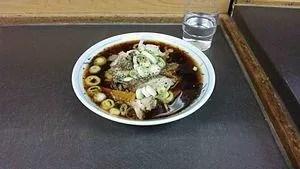 富山ブラック スープ