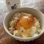 七味とマヨネーズ入り卵かけご飯