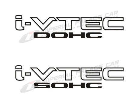 Comprar Par Adesivo I-vtec / Vtec / Dohc / Sohc Honda