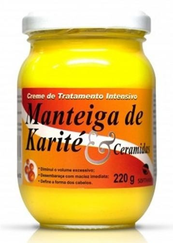Creme De Tratamento Soft Hair Manteiga De Karité E Ceramidas