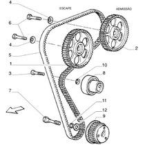 Rolamento Tensor Correia Do Alternador Fiat Tempra 2.0