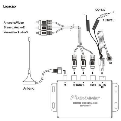 Comprar Receptor De Tv Digital Pioneer Gex-1480dtv