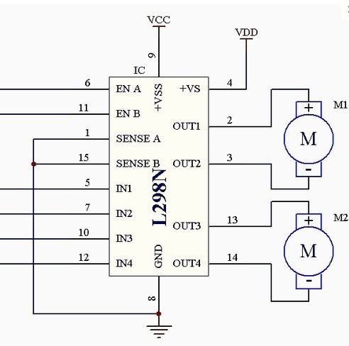 L293d Wiring Diagram, L293d, Free Engine Image For User