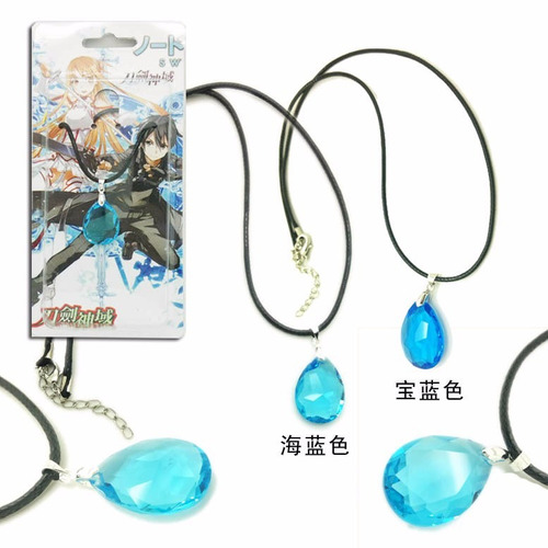 Novo Colar Sword Art Online Cosplay Asuna