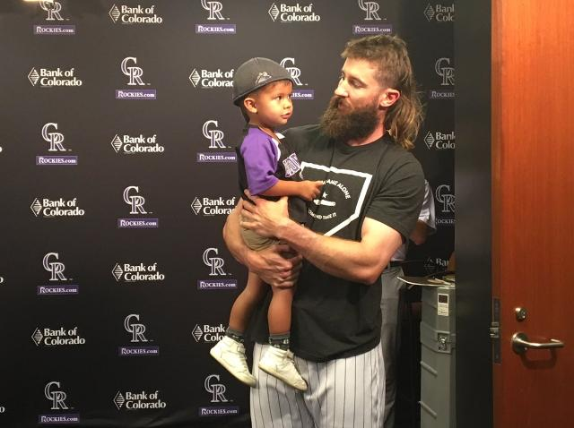 Charlie Blackmon Met His 2 Year Old Superfan And The