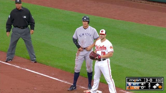 Image result for aaron judge chris davis