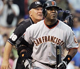 Bonds goes yard