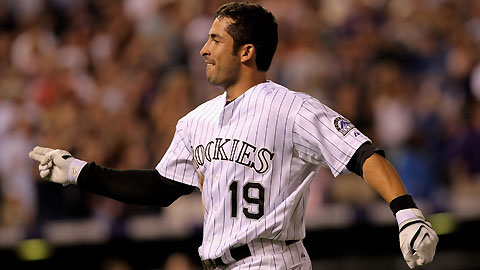 Ryan Spillborghs hit a walkoff grand slam to lead the Rockies to a 6-4 come from behind win in Denver last night over the Giants.