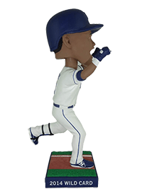 Commemorative Postseason Bobblehead #1 - Salvador Perez