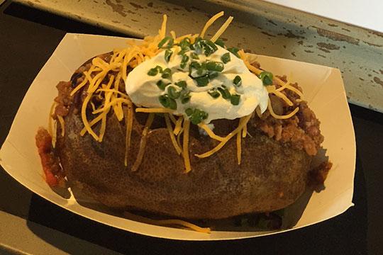 Image result for miller park stuffed potato