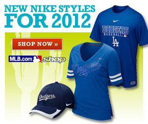 New Nike styles for 2012 in the dodgers.com shop. Shop Now.