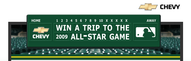 Win a Trip to the 2009 All-Star Game