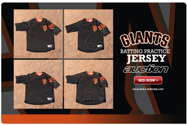 cheap for discount 475bc 6ad9c Giants Batting Practice Jersey Auction | Say Hello To Baseball