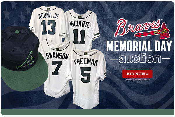 a406ea0fd 45be0 80480  wholesale bid now on jerseys and caps from the atlanta braves  2018 memorial day this auction