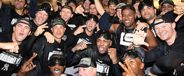 The Yankees are headed to the Postseason