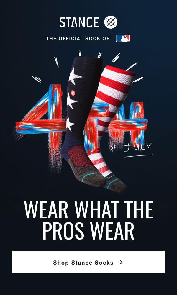 59325de28 Wear what the pros wear. Shop Stance Socks.