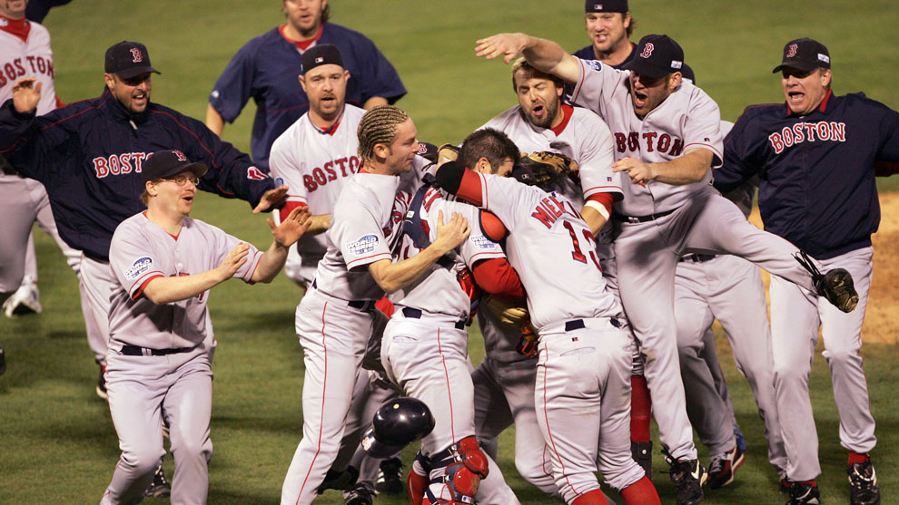 Image result for boston red sox 2004 world series