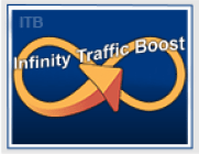 Infinity Traffic Boost logo