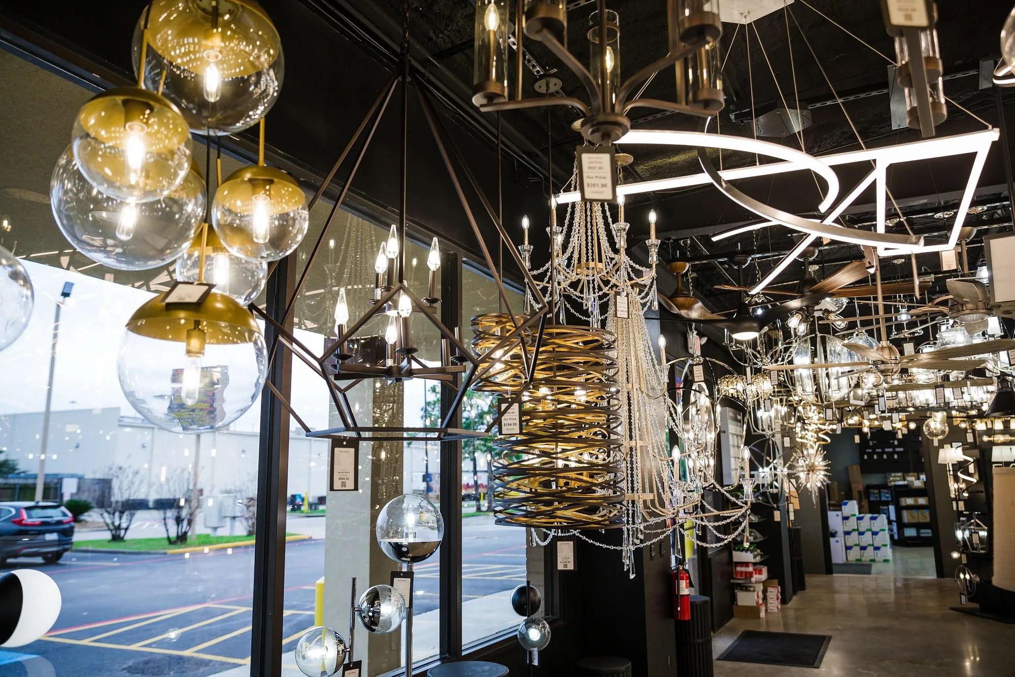 lighting store decor lighting