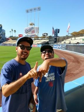 Kid N Drei_Dodgers Win