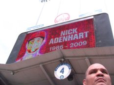 R.I.P. Nick Adenhart, tragically killed by a drunk driver after his first MLB start