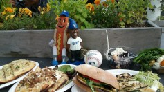 ATTPark_Food Spread w Magic and Dog