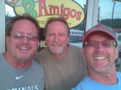 Three Amigos Mexican Restaurant in Barboursville, WV.