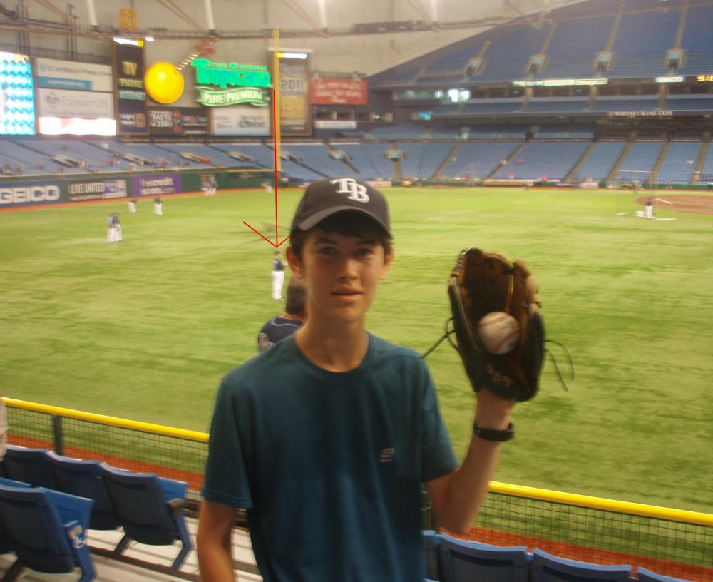 7/2/11 Cardinals at Rays: Tropicana Field (3/6)